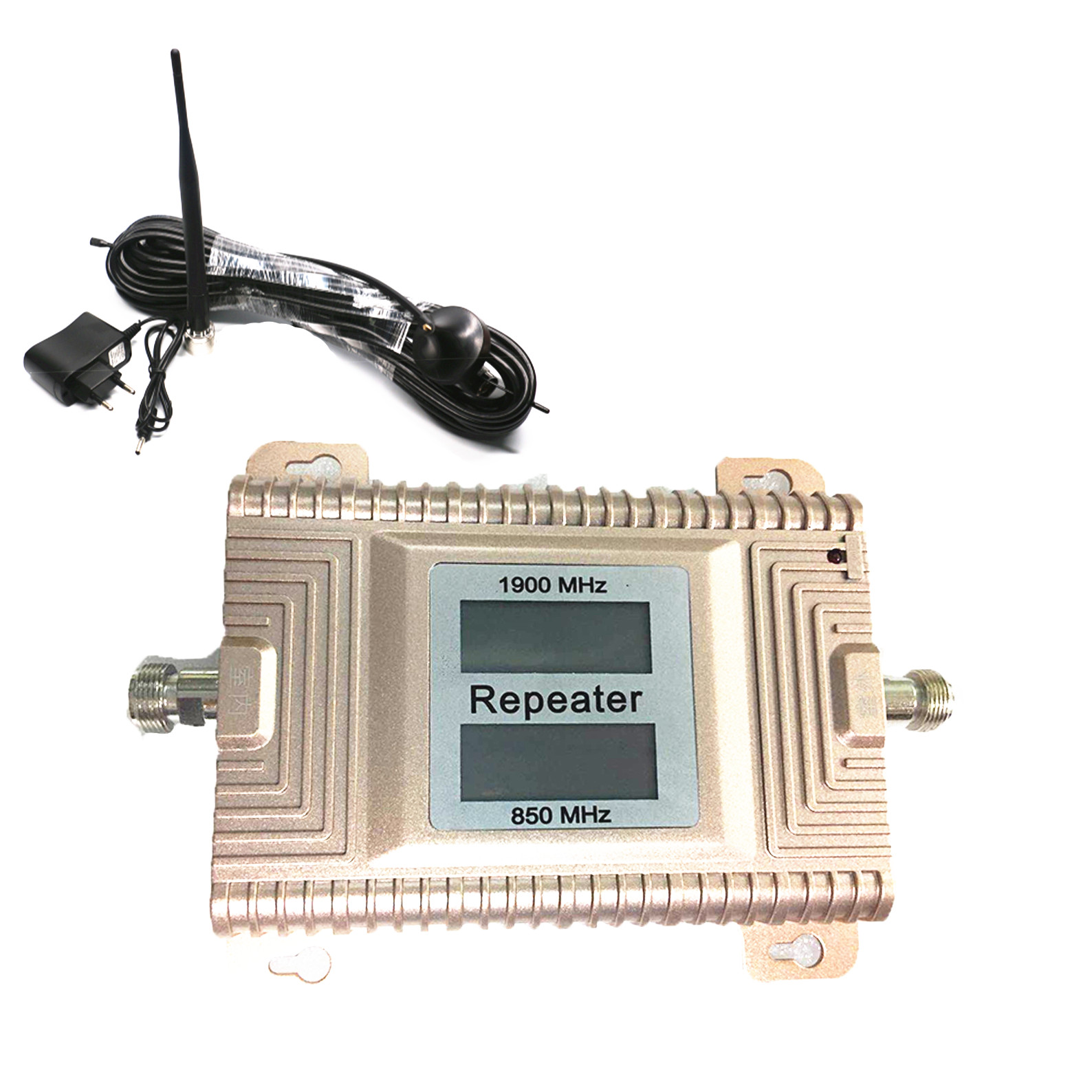 LCD Displays 850  1900 MHZ Directional Signal Booster Amplifier Cdma Smart Booster Kits