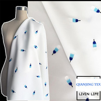 Real Promotion Low Price Polyester Spandex Printed Designer Apparel Fabric