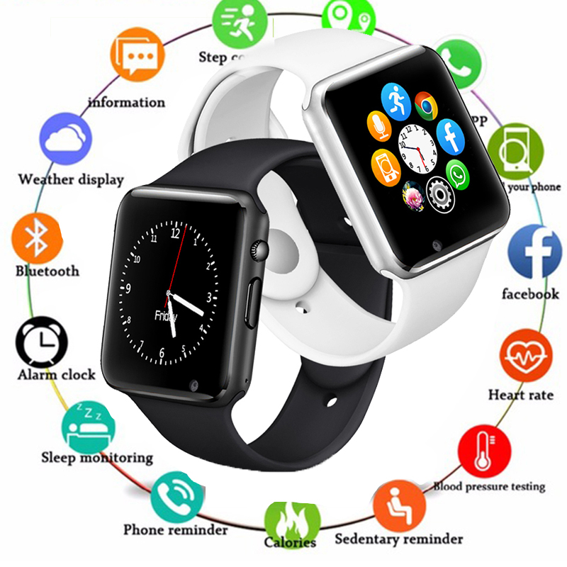 Smart Watch Men For Android Phone Apple Watch Support 2G Sim TF Card 0 3MP Camera Bluetooth Smartwatch Women Kids Digital Watch in Digital Watches from Watches