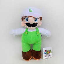 10pcs/lot 25cm Super Mario Bros Plush Doll Toys Super Mario Stand Mario & Luigi Plush Stuffed Toys Soft Toy Gifts for Kids
