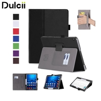 For Huawei MediaPad M 3 Lite 10 Cases PU Leather Stand Case With Card Slots For