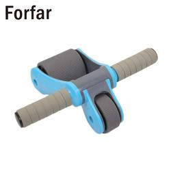 Forfar folding ab roller abdominal dual bearing wheels muscle fitness strength training.jpg 250x250