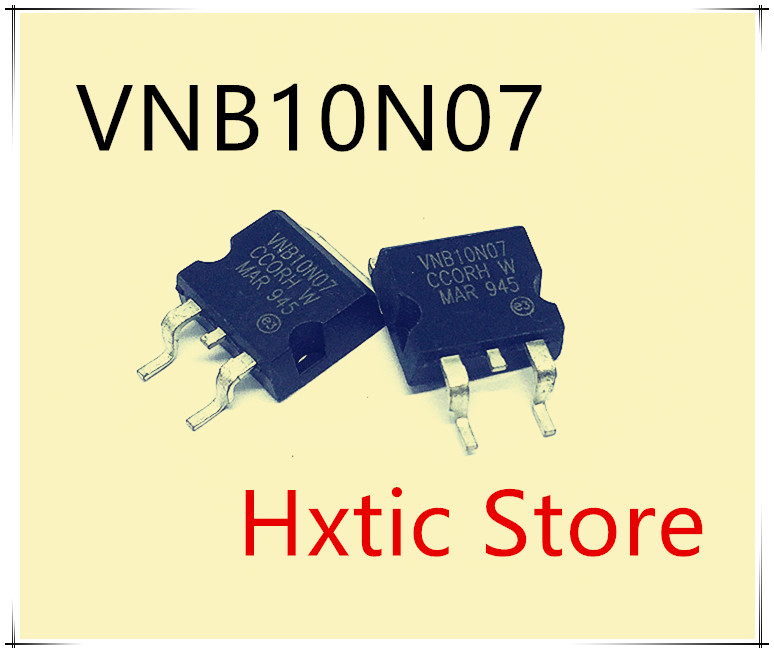 10PCS/LOT VNB10N07 VNB10N 10N07 NB10N0 TO-263