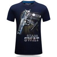 2016 Nouveau Hommes T-Shirts Homme Manches Courtes T Chemises Nouveauté 3D De Mode Hommes T-shirts Homme Casual T-shirts de Marque Clothing