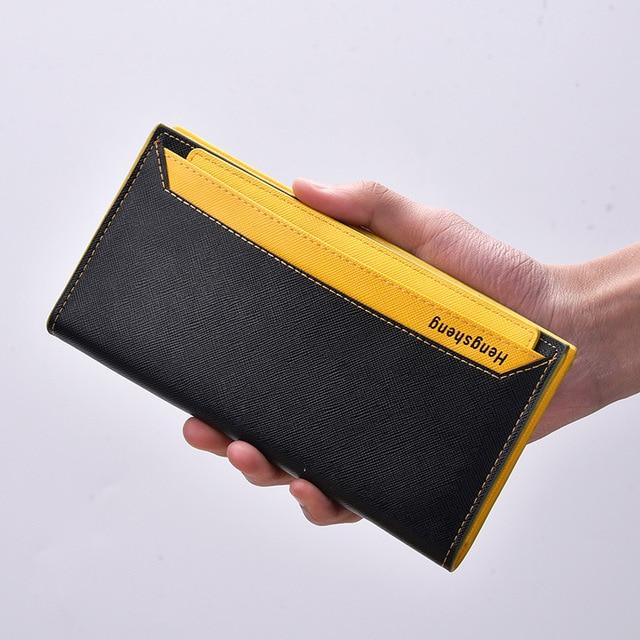 2018 unisex wallet fashion business card holder pu leather photo bit 2018 unisex wallet fashion business card holder pu leather photo bit card organizer purse bag drop colourmoves