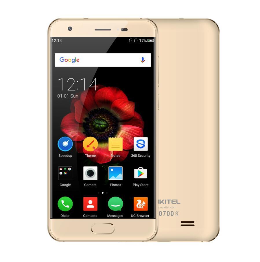 Original oukitel k4000 plus mtk6737 quad core android 6.0 smartphone 5.0 \