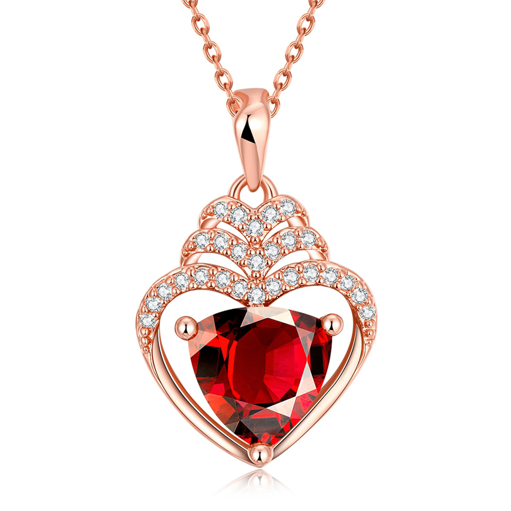 line Get Cheap Red Heart Crystal Aliexpress