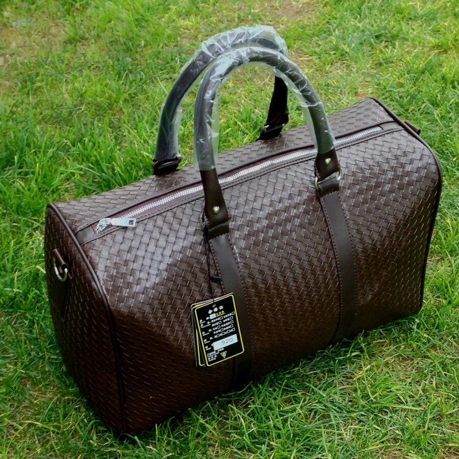 bolsa de viagem versátil mulheres Leather Travel Bags : Men Travel Bags