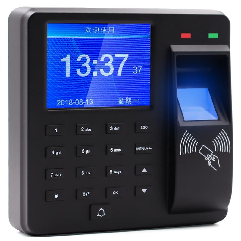 Spanish Korean English Portuguese Language access control fingerprint time attendance fingerprint recorder M10