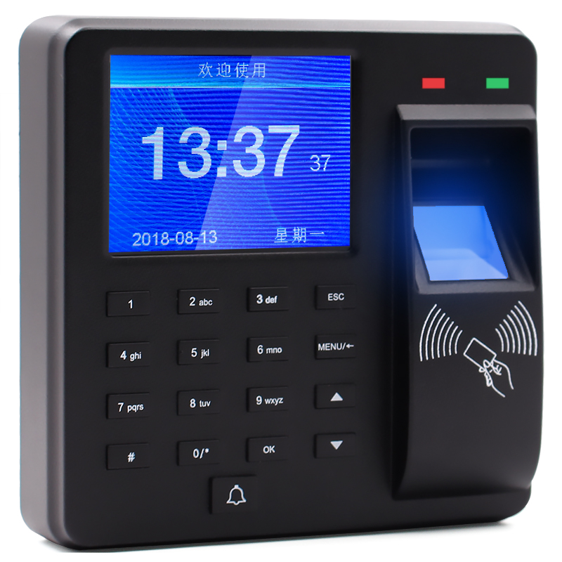 Spanish Korean  English, Portuguese Language  Access Control Fingerprint Time Attendance  Fingerprint Recorder M10