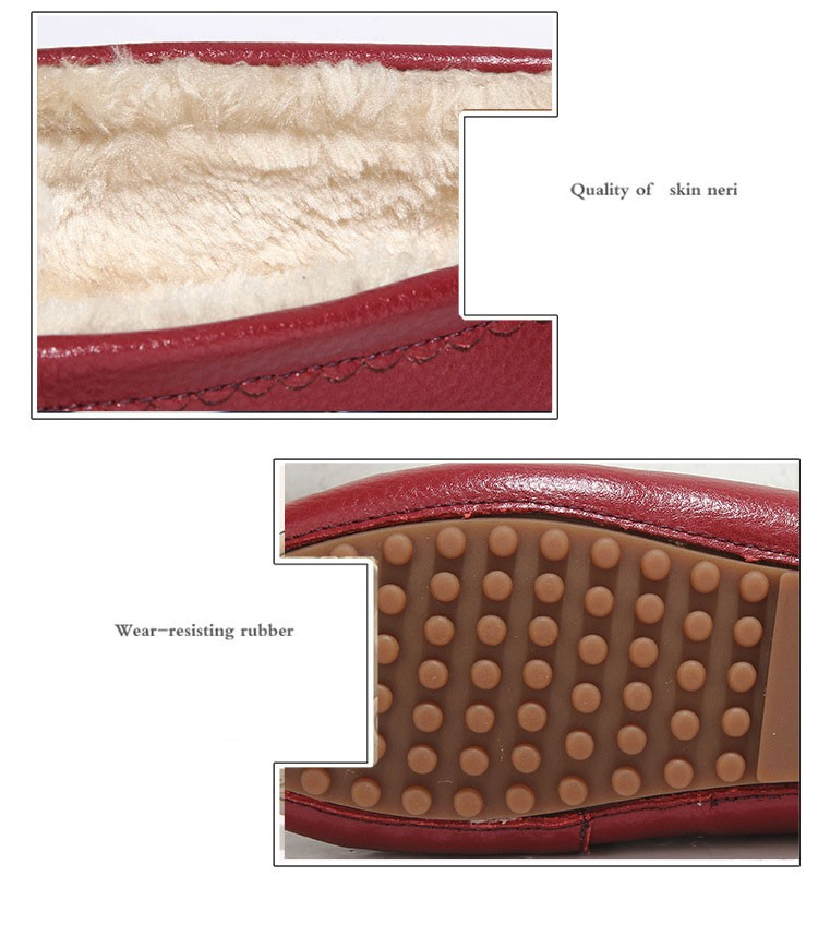AH 5710  (9) women winter loafers