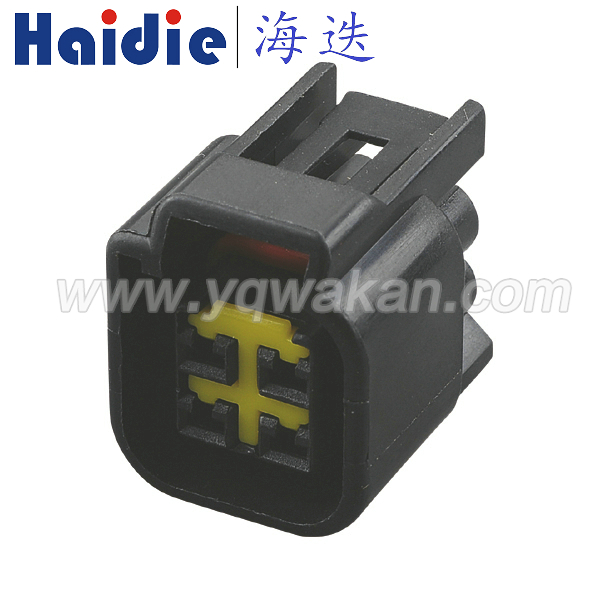 Free shipping 100sets 4pin Furukawa housing plug FWY C 4F B waterproof electrical plug connector 12444 5504 2 Connectors     - title=