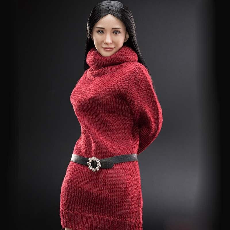 Pré vente 1/6 échelle VC3.0 FX06A Mi Yang tête sculpter cheveux raides avec demi colle corps féminin asiatique chinois Star modèle jouets-in Jeux d'action et figurines from Jeux et loisirs    2
