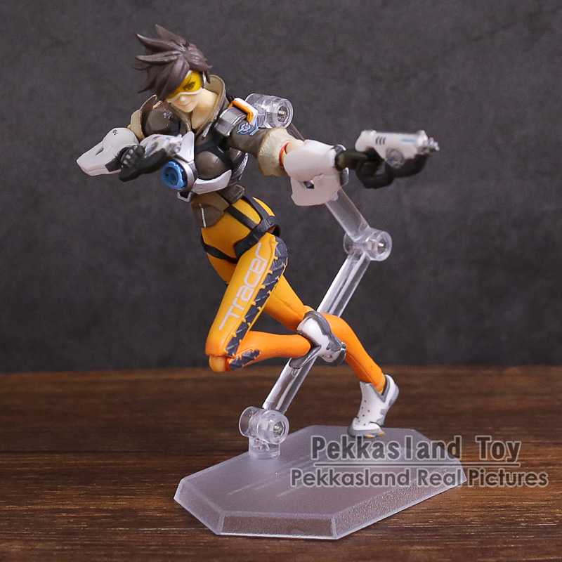 Character Tracer figma 352 PVC Action Figure Collectible Model Toy 14cm