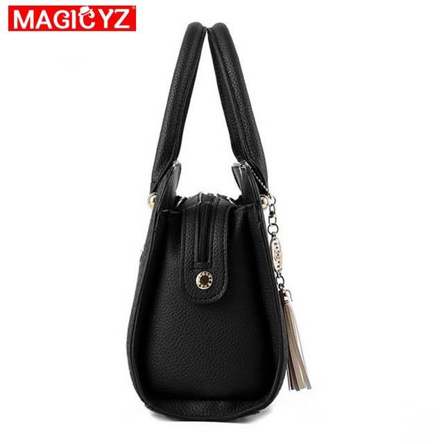 578a4f78b55c placeholder Luxury Crocodile leather women handbags Famous brands designer  women messenger bags female fringed shoulder bag women s