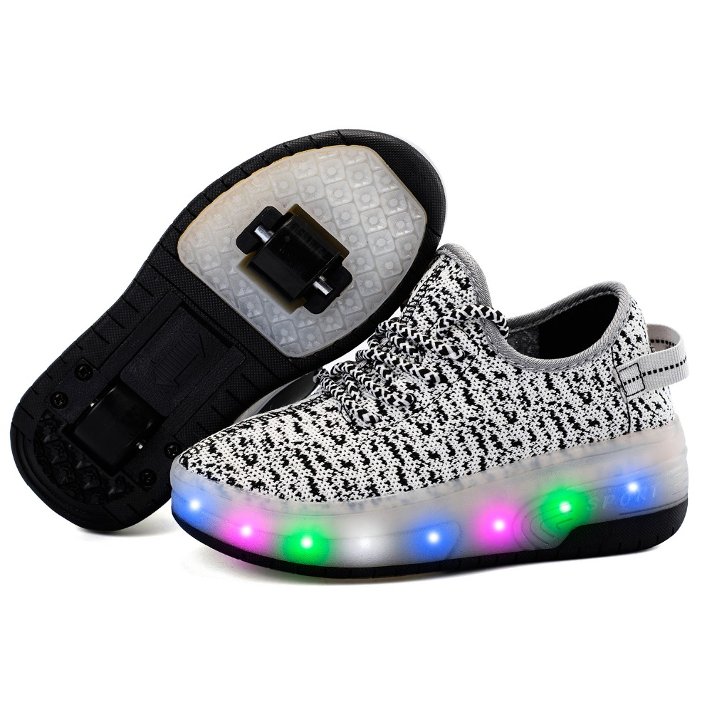 aliexpress buy children shoes kid roller shoes with