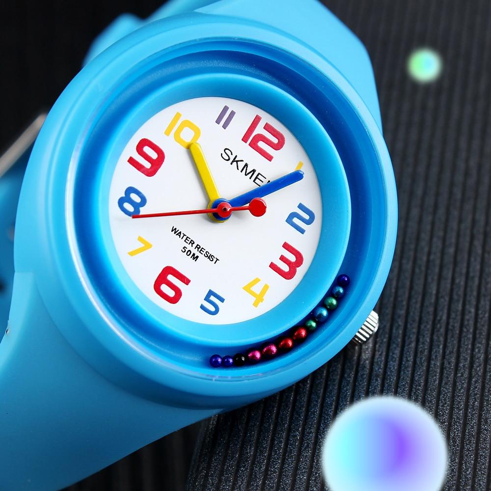 2018 Cool SKMEI Fashion Casual Watches Children Watch Quartz Kids Watches Anti-Freeze Children Clock Boy Girl Kid Wristwatches