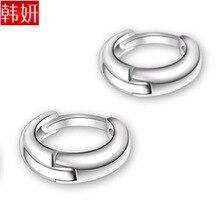 New Fashion – brief all-match pure silver earrings 925 pure silver in ear 925 pure silver earrings small earring 254