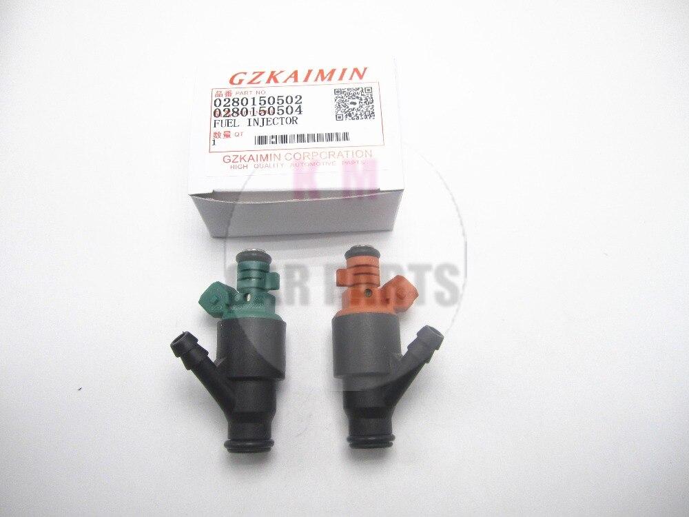 Conjunto 2 flow matched Inyectores de combustible para 95-02 ajuste para kia sportage 2.0 0 280 150 504 0 280 15 0502/0280150504 0280150502
