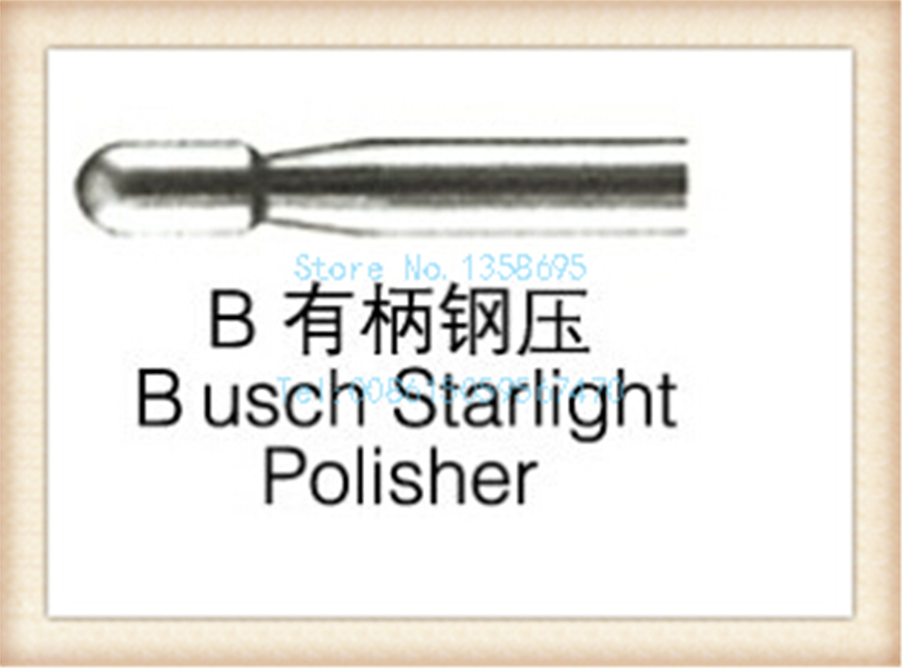 free shipping!D bush starlight polisher,6 pcs/ box,4 boxs/ bag,RPM>40000r/min,drill bit,drill polishing bur,steel bur цена 2017