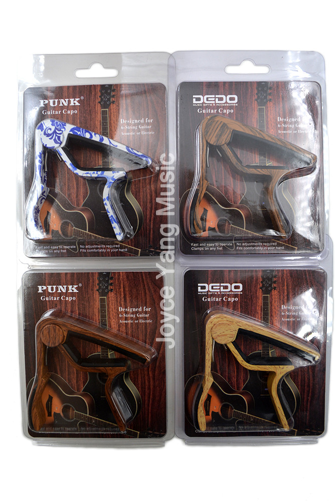Rose Wood Sapele Blue&White PorcelainAcoustic/Electric Guitar 6-Strings Guitar Capo Change Capos Key Clamp Free Shipping hot 8x meideal capo10 acoustic electric guitar quick change trigger capo clamp black