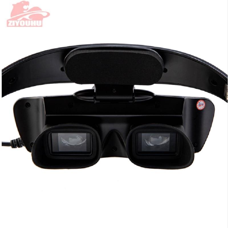 ZIYOUHU IR Цифровые очки ночного видения устройство для масок наблюдения в темноте HD изображения для охоты прицел на голову-in Ночное видение from Спорт и развлечения