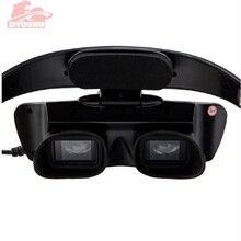 ZIYOUHU IR الرقمية نظارات الرؤية الليلية قناع عين جهاز من لوحظ في الظلام HD التصوير للصيد نطاق رئيس محمولة