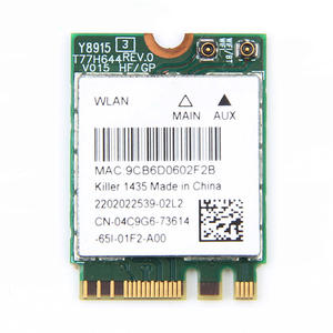 Killer K1535 Wireless/Bluetooth Driver for Mac Download