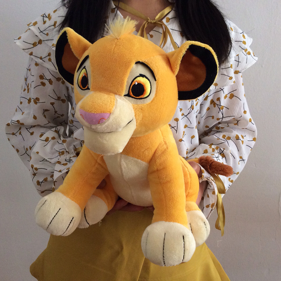 2019 New 30cm The Lion King Simba Soft Kids Doll 118 Young Simba Stuffed Animals Plush Toy Children Toy Gifts Free Shipping