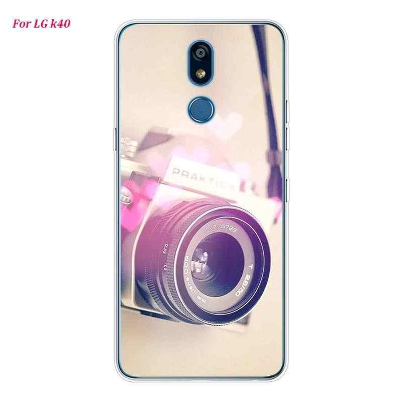 Silikon Lembut Ponsel Case Mengingatkan Kamera Klasik Baterai Kalkulator untuk LG K50 K40 Q8 Q7 Q6 V50 V40 V30 V20 g8 G7 G6 G5 Thinq