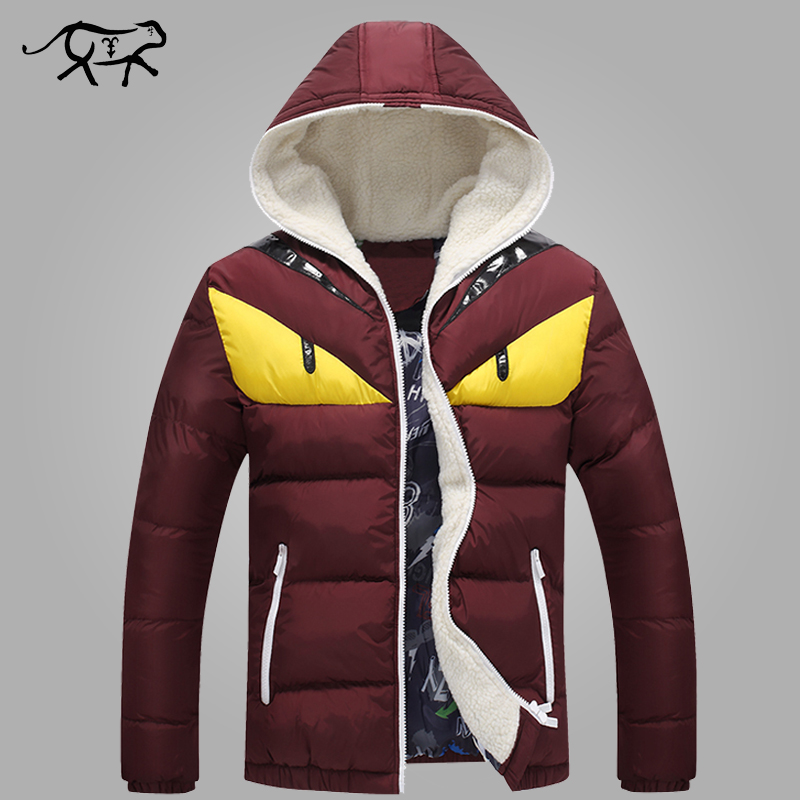 2018 New Brand Men's Winter Jackets and Coats Fashion Hooded Men Jacket Causal Warm Coats for Male Thick Overcoats Cotton Padded-in Parkas from Men's Clothing    1