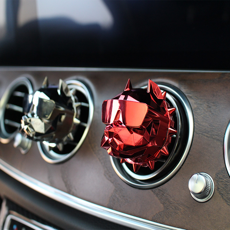 Image 4 - Car Interior Ornaments Cool Dog Head Modeling Aroma Air Outlet Perfume Clamp Clip Vehicle Mounted Aromatherapy Lasting Practical-in Air Freshener from Automobiles & Motorcycles