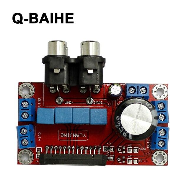 Finished Tda7850 4x50w Hifi 4 Channel Car Audio Amplifier Board 12v