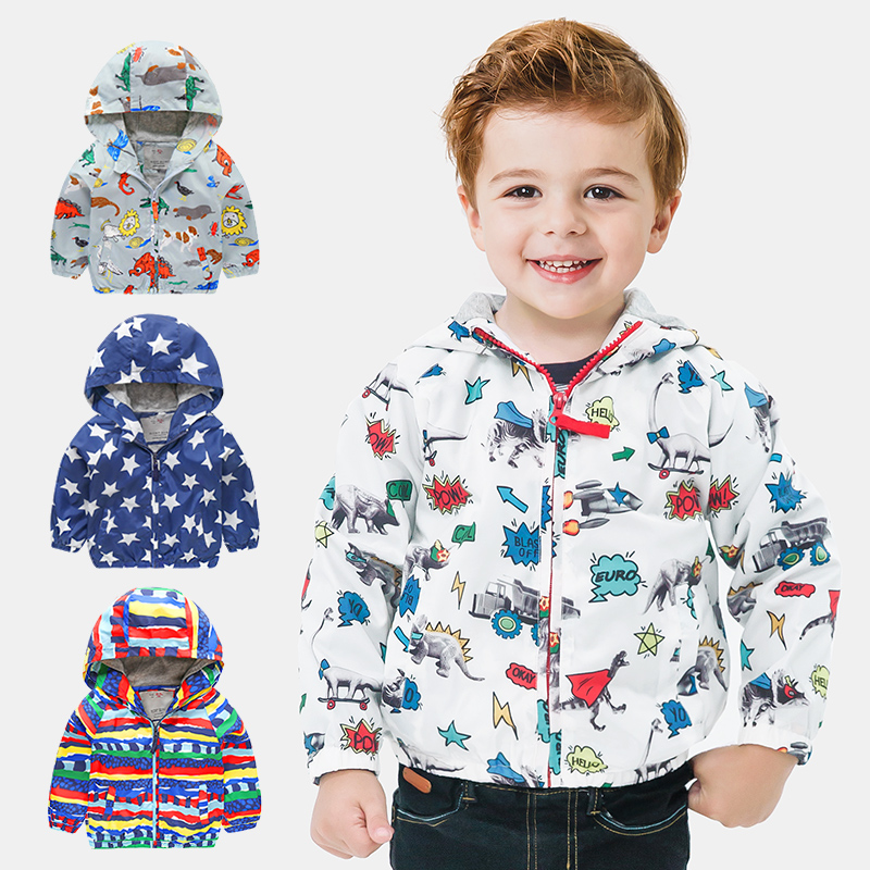 c354ee314 Kids Toddler Boys Jacket Coat Hooded Jackets For Children Outerwear ...