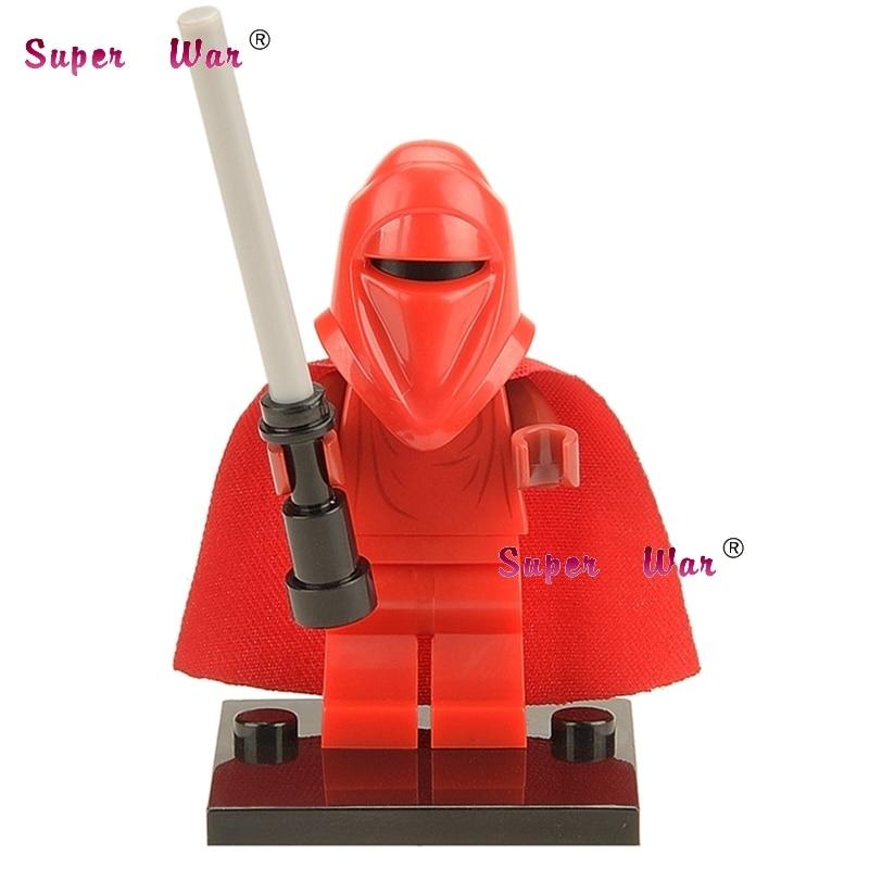 50pcs Force Awakens Red Guard building blocks action bricks friends for girl boy house games kids