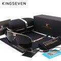 KINGSEVEN Nueva Llegada gafas de Sol Polarizadas de Los Hombres Diseñador de la Marca de Moda gafas de sol Protegen Los Ojos Gafas de Sol Con Caja KINGSEVEN