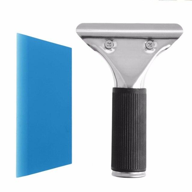New Car Auto Window Film Tinting Squeegee Razor Blade Scraper Tool With Handle