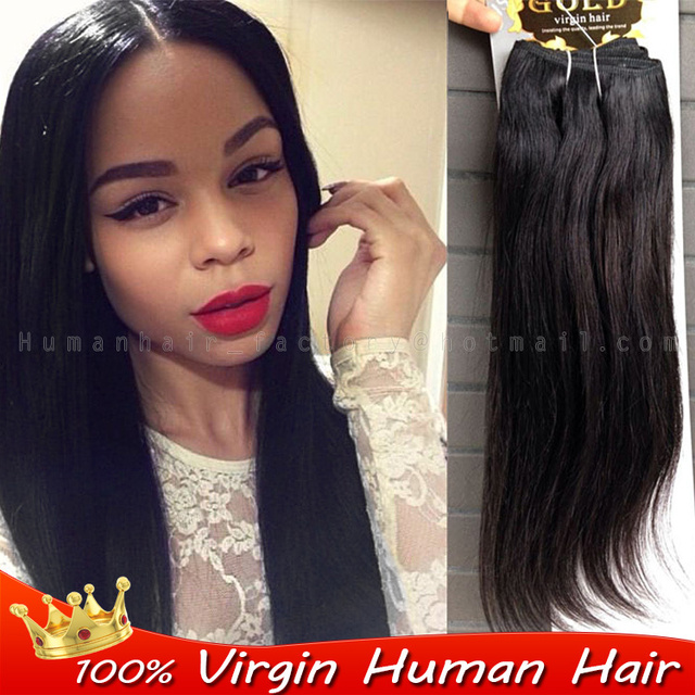 3pcs Brazilian Really Hair Straight Natural Black 1b People Hair