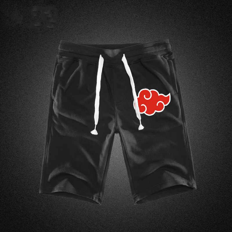 Letnie szorty Cargo mężczyźni HOKAGE bawełna czarny szary gorące kieszenie paski Looes męskie spodenki do kolan spodnie dresowe Casual oprzyrządowanie