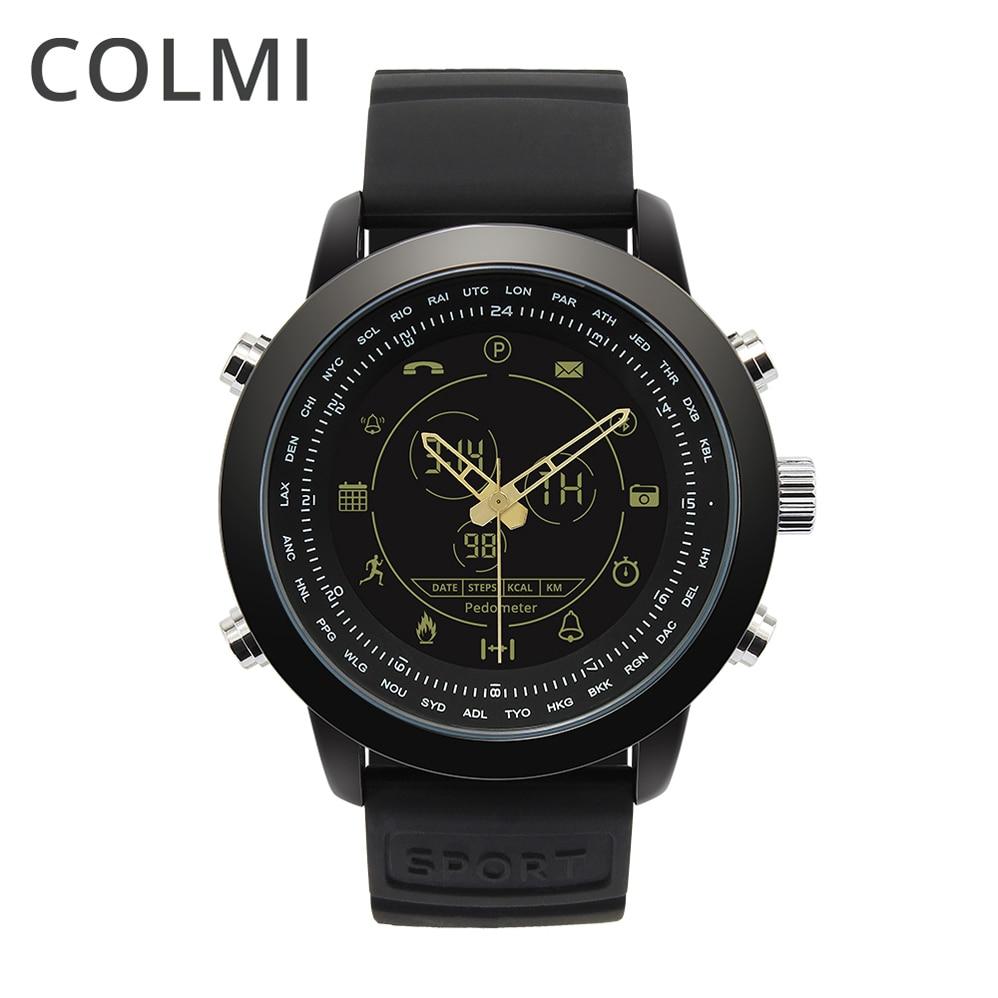 COLMI Smart Watch Waterproof Passometer Clock Bluetooth Fitness Stopwatch Activity Tracker For IOS Moto Huawei PK Garmina Fenix