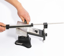 Update Professional Kitchen Knife Sharpener System Fix-angle 4 Sharpening Stones