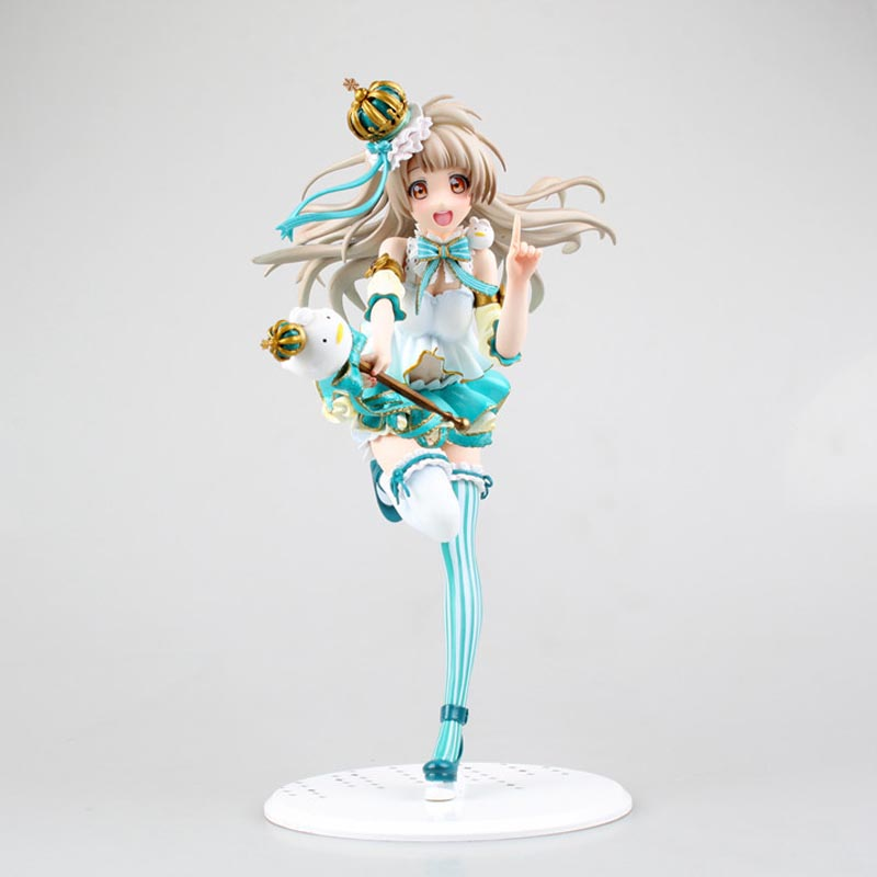 Love Live! School Idol Festival Kotori Minami Snowman Ver. 1/7 Scale PVC Painted Figure Collectible Model Toy 23cm Free shipping touhou project 1 7 scale painted figure light ver kirisame marisa doll pvc action figure collectible model toy 23cm