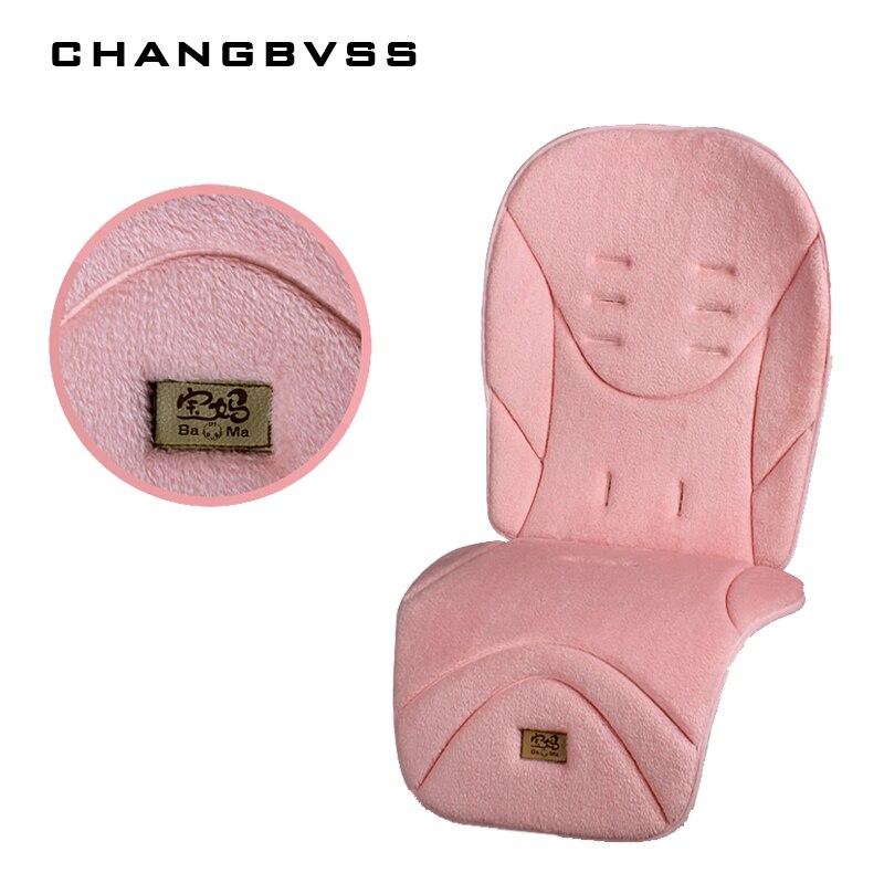Детская коляска, теплая подушка на сиденье, обеденный стул, детская коляска, аксессуары для коляски 1