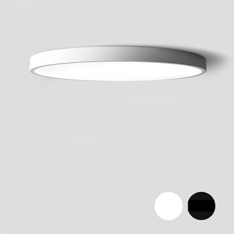 DX rotonda ultra-sottile HA CONDOTTO l'illuminazione del soffitto lampade a soffitto per il soggiorno lampadari A Soffitto per la sala moderna lampada da soffitto