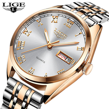 LIGE Mens Watches Top Luxury Brand