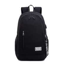 Large-Capacity Backpack Travel Bag 2019 New Junior High School Student USB Rechargeable