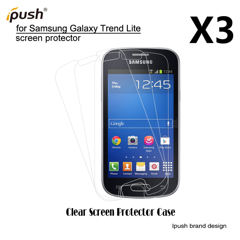 For samsung galaxy trend lite 3 pcs lot clear screen - Protection galaxy trend lite ...
