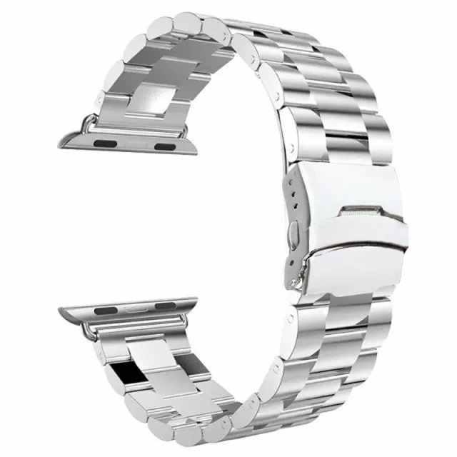 最高品質のステンレス鋼時計カルティエ時計スポーツ版時計バンド 38 ミリメートル 42 ミリメートル iWatch ブレスレット腕時計 4 バンド