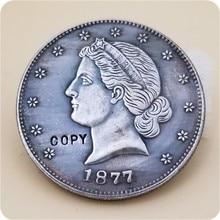 Paquet de pièces de monnaie américaines, 1877 50C, Liberty, demi-Dollar