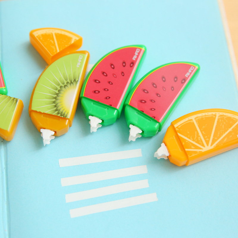10 pcs/lot Fruit Deco Correction Tape Mini Correcting Tapes